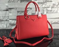 Wholesale Top Grain Leather Bags - Original Quality,Women 2961 Litchi Grain Calf leather totes Bag,100% Real Leather,Double Leather Top Handles,Adjustable Strap,Free Shipping