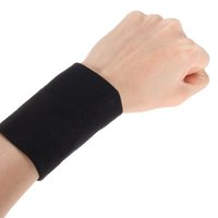 Wholesale Wrist Support For Basketball - Wholesale- 1 Pair Highly Elastic Wrist Support Basketball Tennis Wristband Sport Wrist Wraps for Band Brace Athlete Fitness Equipment