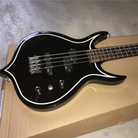 Wholesale guitar factory direct resale online - New listing quality custom shop Factory direct guitar strange guitar in black color High Quality Popular black can be a of custom