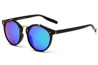 Wholesale Trendy Black Sunglasses - Sunglasses For Men Women Fashion Retro Sunglases Womens Trendy Sunglass Mens Designer Sunglasses 2017 Unisex Outdoor Sun Glasses 1C6J10