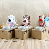 coin save 2018 - Cute Dog Money Box Money Bank Automatic Stole Coin Piggy Bank Money Saving Box Moneybox Gifts for kid
