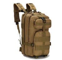 nylon wanderrucksack großhandel-Nylon 30L Outdoor Sport Tactical Rucksack Rucksäcke Camping Wandern Trekking Bag Radfahren traving Army Rucksäcke Taschen