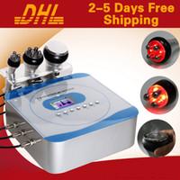 Wholesale Portable Cavitation Ultrasonic Weight Loss - 3 In 1 Portable RF Cavitation Machine 3 In 1 Ultrasonic Liposuction Slimming Equipment PFor Fat Burning Weight Loss