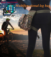Wholesale Outdoor Tactical Military Leg Pack Waist Bag Molle Pouch Camping Hiking Camera Travel