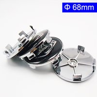 Wholesale hub 65mm - 54mm 60mm 63mm 65mm 68mm Car Styling Accessories Emblem Badge Sticker Wheel Hub Caps Centre Cover for DODGE Ram CHARGER CHALLENGER GRAND