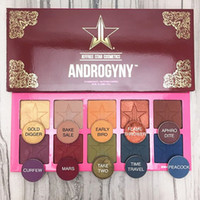 Wholesale Natural Eye Drops - Jeffrey Star Beauty Killer ANDGORYNY Eyeshadow Palette 10 Colors Shimmer Matte Eye Shadow Makeup Cosmetics Highlighter Drop Shipping