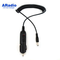 Wholesale baofeng uv 5ra accessories for sale - V DC Car Charger Cable for BaoFeng Walkie Talkie UV R UV RA UV RB UV RC UV RE UV B5 UV B6 KG UVD1P Battery Accessories