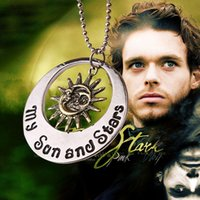 Wholesale Special For Games - Special Statement The game of Throne surrounding pendant necklace Sun of My Life and My Sun and Stars for couple