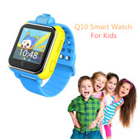 Wholesale Network Positioning - Wholesale- Cute Q10 3G Network Smart Watch For Children With Camera GPS Positioning SOS Tracker Alarm Wristwatch Kids' Wearable Devices