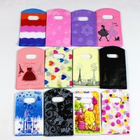 Wholesale 25 Jewelry - 9*15 13*21 15*20 Gift Bags 20*25 20*30 30*40 40*50 50*60 Plastic Jewelry Clothing Pouches Bags Packaging Wholesale Free Shipping - 0025Pack