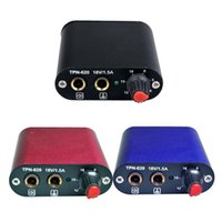 P020 black box tattoo - tattoo power supply box small size durable convenient color optional Black Blue Red best selling