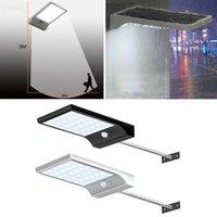 lumières de porche de mouvement achat en gros de-36 LED rue gouttière solaire lumières bras de mur avec le montage Polonais 36LED détecteur de mouvement extérieur détecteur de lumière pour lampe de porche de la grange