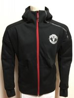 Wholesale 2017 new Champions ZNE Hoodie Elite Training Rain Jacket Soccer Club Team Anthem Rain Jacket Football Soccer Zip Shower Anthem Hoody Jacket