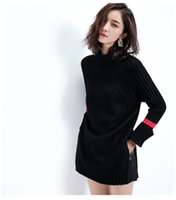 Wholesale Turtle Neck Sweaters Wholesale - Delicate texture autumn and winter new long-sleeved Korean East door warm high-necked sweater bottoming shirt women XY010