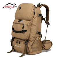Wholesale 75l Outdoor Bag - LOCAL LION 60L Outdoor Men Women Trekking Hiking bag Backpack Trip Travel Luggage Shoulders Bag For Camping Hiking Climbing 063