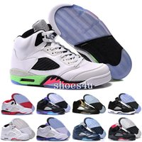 Noir blanc Purple Grapes Retros 5S Hommes basket-ball 5S Discount Oreo Sport Chaussures hommes Sneakers Outdoor femme Athletics Chaussures Retro 5