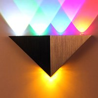 Wholesale 5led 5w - Fashion 5W Modern 5LED Stair Up Down Wall Light Spot Lamp Hall Path Sconce Lighting