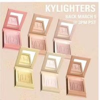 Wholesale News Free - NEWS Kylie Cosmetics Highlighters Kylighters In Banana Split PREORDER Kylighter DHL Free