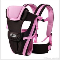 Wholesale Cotton Sling Pouch - Top Brand 0-24M Ergonomic Baby Carrier Backpack Breathable Multifunctional Front Facing Sling Backpack Pouch Wrap Infant Kangaroo