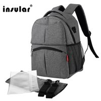 Wholesale Diaper Bags Red Black - Wholesale New Fashion Waterproof Nylon Baby Diaper Bag Backpack Multifunctional Mommy Backpack Nappy Bag