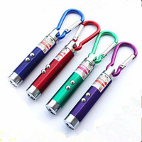 Fackel Licht Hochleistungs-laser Kaufen -3 in 1 LED Laser Stift Pointer Blitzlicht UV Taschenlampe 5 mW Notfall Keychain High Power schnelle verschiffen