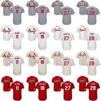 Wholesale St 15 - St. Louis Cardinals Jersey Men Women Youth 11 Paul DeJong 18 Carlos Martínez 27 Jhonny Peralta 28 Tommy Pham 15 Randal Grichuk 32 Matt Adams