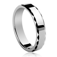 Wholesale Tungsten Carbide Lovers Rings - Fashion Tungsten Carbide Ring Lovers Rings Wedding Bands Ring 6mm Men Ring TRP-168B