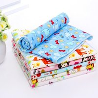 Wholesale Sheets Protectors - 2016 New arrive 9 Patterns lovely Baby Kids Waterproof Mattress Sheet Protector Bedding Diapering Urine Mat Changing Pads
