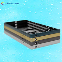 Wholesale Cover Dual Sim - Free Shipping, For Sony Z5 Middle Frame Front Housing Replacement Cover With Small Parts Original New Single Dual SIM