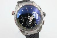 Wholesale Morden Men - t whosale g AAA+ 2077 44mm stop chronography case back tainless steel rubber strap morden Promotion quartz fashion watch man wristwatch
