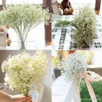 Wholesale Cheap Fake Silk Flowers - High Quanlity 100Pcs lot Gypsophila silk baby breath Artificial Fake Silk Flowers Plant Home Wedding Party Home Decoration Cheap Sale