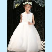 Wholesale Elegant Evening Kids Dresses - Retail Flower Girl Dresses For Children Kids Girl Ball Gown First Communion Girls Pageant Dresses Elegant Evening Dress LP-53