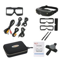 Wholesale Head Tracker - Skyzone SKY02S V+ 3D 5.8G 40CH FPV Goggles Video Glasses Tracker Head Tracking HDMI-IN Channel DVR (No Transmitter No Camera ) F20318 9