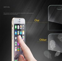 Wholesale Iphone Screen Mirrors - Tempered Glass For iPhone 8 7Plus 6S Anti-shatter Screen Protector Film For Samsung Galaxy S6 S7edge S8 plus xiaomi