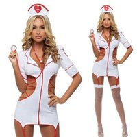 Sexy Costumes sexy nurse uniform costume - Sexy Cosplay Nurse Carnaval Costume for Women New Sexy Cosplay Costumes Halloween Vest Clothes Polyester Role playing