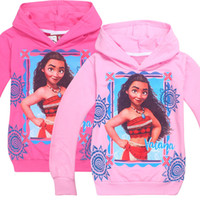 Wholesale Girls Jacket Children Sweater - New Children Clothes Kids Girls Hooded Long Sleeve Sweaters Autumn Cartoon Hoodies Jacket 4 P L
