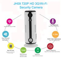 Wholesale Ip Camera Factory - Original Factory Manufacture, JIMI Security Wireless 3g IP camera with Live Streaming Video and Motion Detection