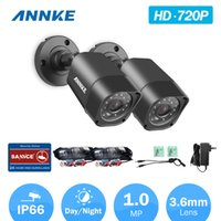 Wholesale Sharp Vision Camera - ANNKE® Home Security Wireless Analog Camera HD 720P TVI CVI AHD DVR IR Night Vision Monitoring Weatherproof Security Camera Free Shipping
