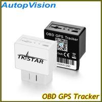 Wholesale Gps Mobile Tracking - TKSTAR Car Vehicle GSM OBD GPS Tracker Data OBD2 automotive diagnostic detector PC tracking Mobile phone APP