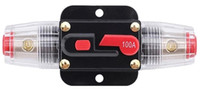 Systèmes de voitures audio Prix-ZOOKOTO Auto Car Protection Porte-fusibles Inline Circuit Breaker Reset Fuse Inverter for Car Audio Protection du système 12V-24V DC