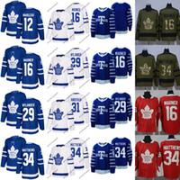 5a7953a6cd7 Mens 2017-18 Toronto Maple Leafs 12 Patrick Marleau 29 William Nylander 31  Frederik Andersen 16 Mitchell Marner 34 Auston Matthews Jerseys