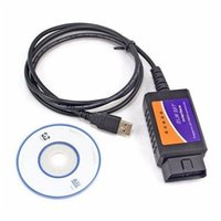 Wholesale Gm Can Diagnostic Interface - ELM327 USB Plastic OBD2 Auto Diagnostic Tool Version V1.5 ELM 327 USB Interface OBDII CAN-BUS Scanner