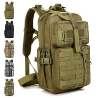 Wholesale Swat Tactical Molle Assault Backpack - Outdoor Military Tactical Assault Camo Soldier Backpack Molle System 3 Day Life Saver Bug Out Bag Survival SWAT Police 5pcs Free DHL Fedex