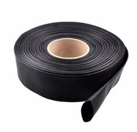 1m PVC Heat Shrink Tubo Materiali isolanti elettronici Nero 30/40/46/50/60/70 / 86mm largo per la batteria Lipo