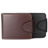 Wholesale Designer Mens Luxury Wallet - Wallets Gifts For Men Designer Wallet Mens Leather Wallet New Man Fashion High Quality Black Luxury Wallets 217#