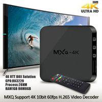 dijital alıcı usb toptan satış-Dört çekirdekli 1G 4 k 1080 p HD dijital Android İnternet alıcısı akıllı set-top TV kutusu bağlı usb hdmi WiFi ağ DVB Perakende ambalaj ile