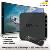 ingrosso box wifi tv internet android-Ricevitore Internet digitale Android quad-core 1G 4k 1080p HD intelligente set-top TV box collegato hdmi hdmi rete WiFi DVB con confezione per la vendita al dettaglio