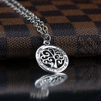 2017 Hot Mom Vous êtes le coeur de notre famille Family Tree of Life Chain Collier Fashion Pendant Necklaces