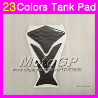 ninja r 1997 toptan satış-23 Renkler 3D Karbon Fiber Gaz Tank Pad Koruyucu Için KAWASAKI NINJA ZX11R 1993 1994 1995 ZX-11R ZZR1100 ZX11 R 1996 1997 3D Tank Cap Sticker