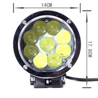 1pcs 5.5 pouces 45w Led Work Light Spot Flood Beam pour les machines hors route 4wd Atv Suv Truck 4x4 Driving Lamps
